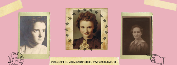 Forgotten Women of History Banner