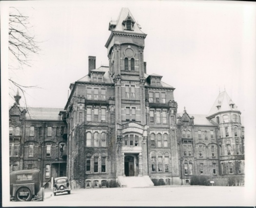 Pontiac State Hospital  - Oakland, Michigan, Administrative Building (1939)