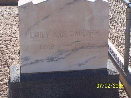Emily Ann Gravestone