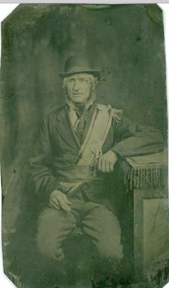 Hamilton Caldwell/Colwell - my most Irish-looking ancestor photo!