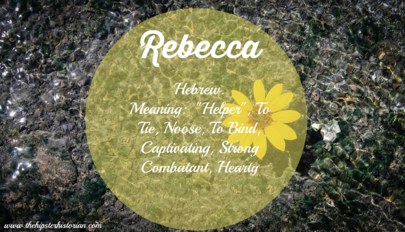 Meaning of Rebecca