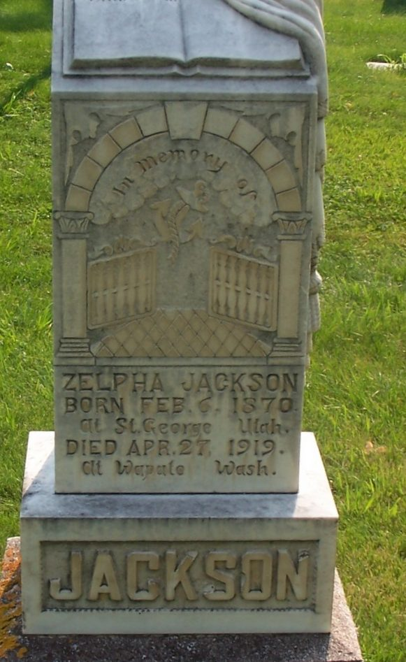 Zelpha Cornwell Thompson Jackson