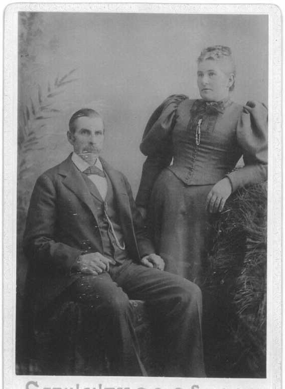 John Longman Bench and his 3rd wife Clara Ann Steer
